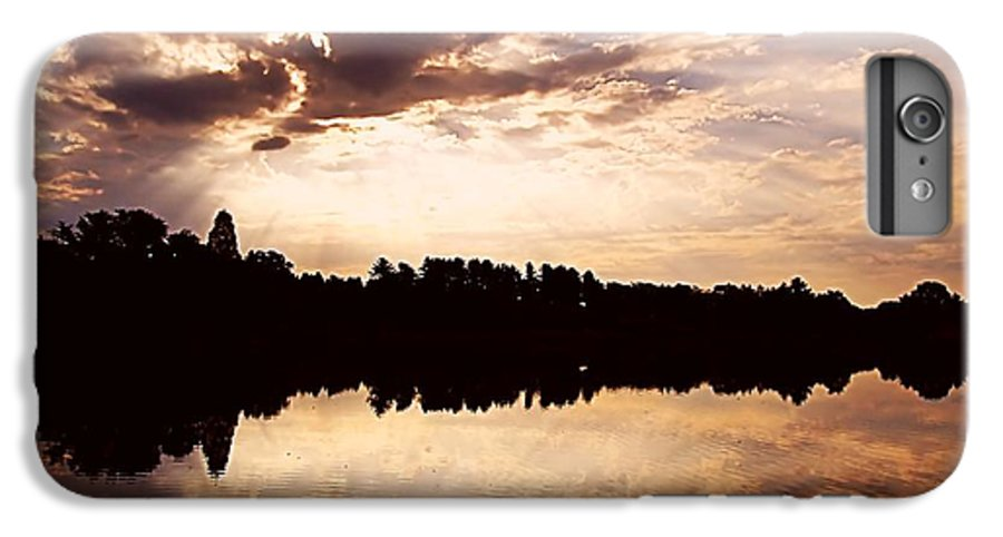 Sunrise IPhone 6s Plus Case featuring the photograph Glorious Moments by Gaby Swanson