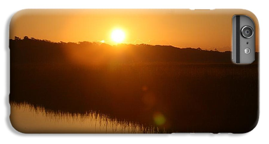 Glow IPhone 6s Plus Case featuring the photograph Gold Morning by Nadine Rippelmeyer