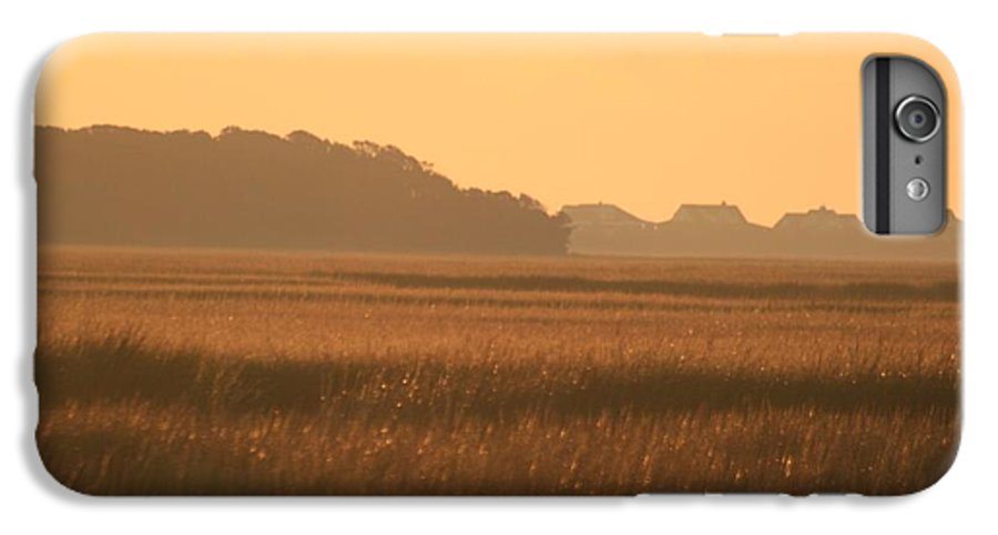 Marsh IPhone 6s Plus Case featuring the photograph Golden Marshes by Nadine Rippelmeyer