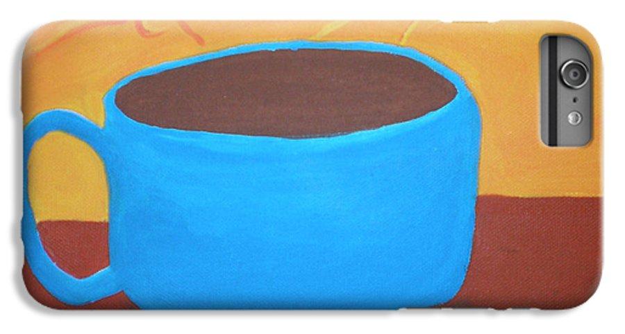 Good Morning Sunshine IPhone 6s Plus Case featuring the painting Good Morning Sunshine by Beth Cornell