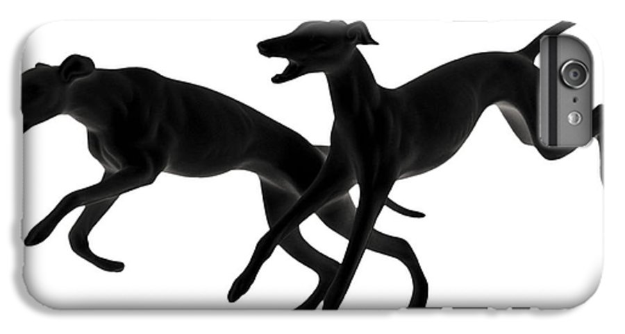 Greyhounds IPhone 6s Plus Case featuring the photograph Greyhounds Travelling At 45 Mph by Christine Till