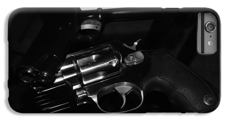 Guns IPhone 6s Plus Case featuring the photograph Guns And More Guns by Rob Hans