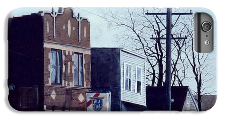 Urban IPhone 6s Plus Case featuring the painting Halsted by William Brody