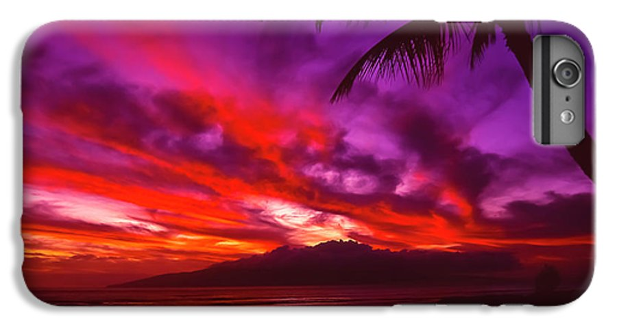 Landscapes IPhone 6s Plus Case featuring the photograph Hand Of Fire by Jim Cazel