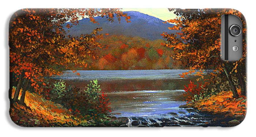 Landscape IPhone 6s Plus Case featuring the painting Headwaters by Frank Wilson