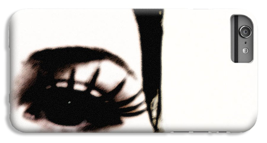 Eye IPhone 6s Plus Case featuring the photograph Hello by Amanda Barcon