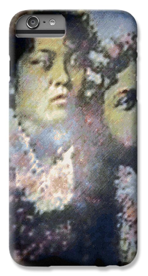Tropical Interior Design IPhone 6s Plus Case featuring the photograph Hula Kaika Ma Hine by Kenneth Grzesik