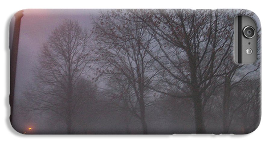 January IPhone 6s Plus Case featuring the photograph January Fog 3 by Anita Burgermeister