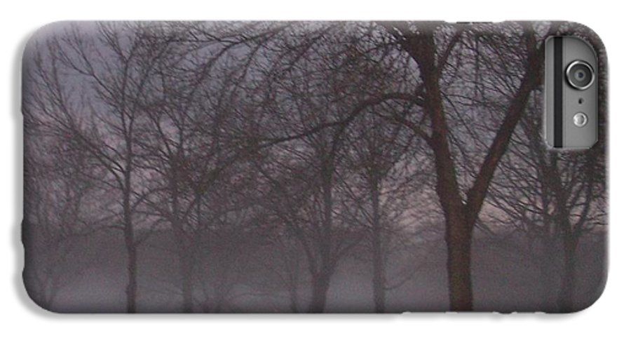 January IPhone 6s Plus Case featuring the photograph January Fog 4 by Anita Burgermeister