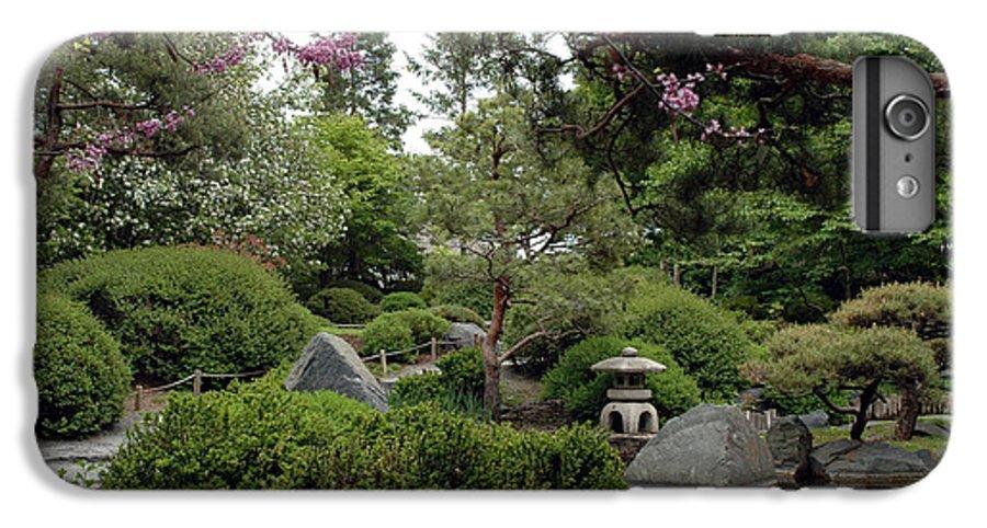 Japanese Garden IPhone 6s Plus Case featuring the photograph Japanese Garden IIi by Kathy Schumann
