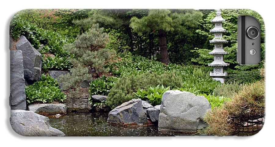 Japanese Garden IPhone 6s Plus Case featuring the photograph Japanese Garden Iv by Kathy Schumann