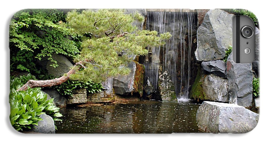 Japanese Garden IPhone 6s Plus Case featuring the photograph Japanese Garden V by Kathy Schumann