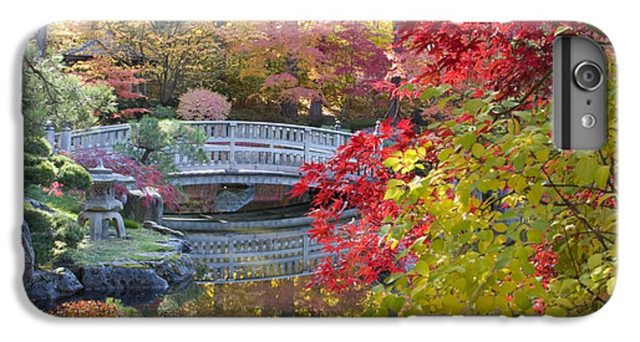 Gardens IPhone 6s Plus Case featuring the photograph Japanese Gardens by Idaho Scenic Images Linda Lantzy