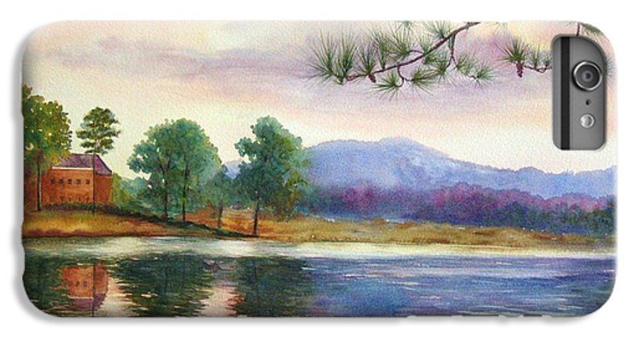 Marietta IPhone 6s Plus Case featuring the painting Kennesaw Mt. by Ann Cockerill