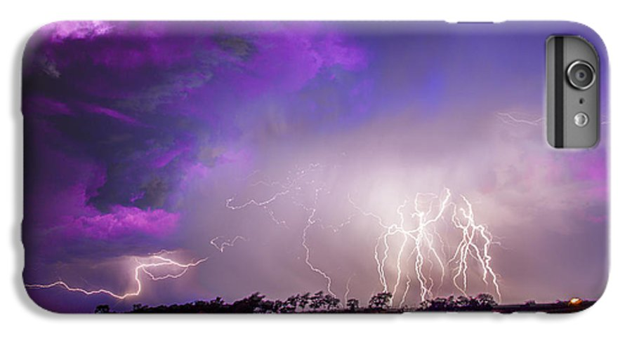 Nebraskasc IPhone 6s Plus Case featuring the photograph Kewl Nebraska Cg Lightning And Krawlers 038 by NebraskaSC