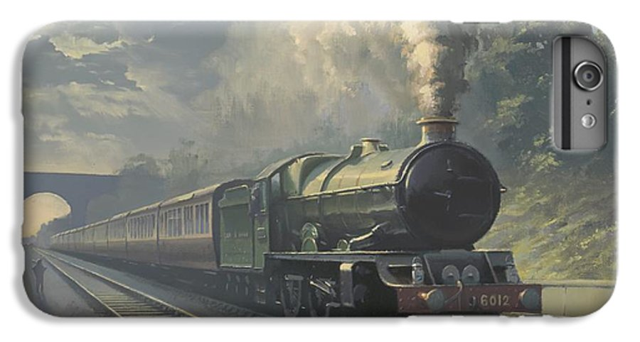 Steam IPhone 6s Plus Case featuring the painting King Edward Vi by Richard Picton