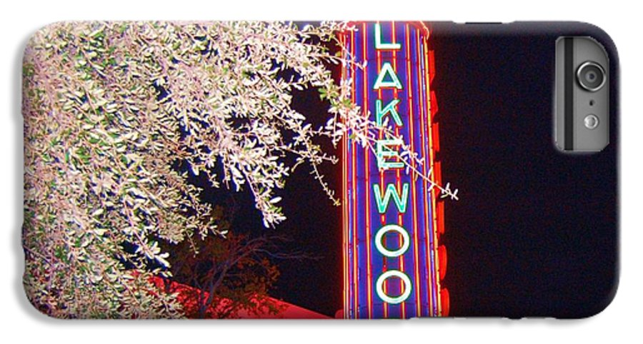 Theater IPhone 6s Plus Case featuring the photograph Lakewood Theater by Debbi Granruth