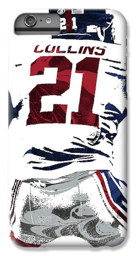 online retailer e4e00 f6b03 Landon Collins New York Giants Pixel Art 1 IPhone 6s Plus Case
