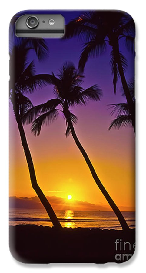 Sunset IPhone 6s Plus Case featuring the photograph Launiupoko Sunset by Jim Cazel