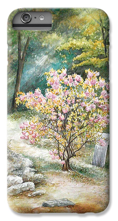 Landscape IPhone 6s Plus Case featuring the painting Life by Valerie Meotti