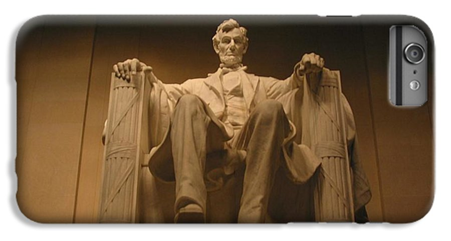Abraham Lincoln IPhone 6s Plus Case featuring the photograph Lincoln Memorial by Brian McDunn
