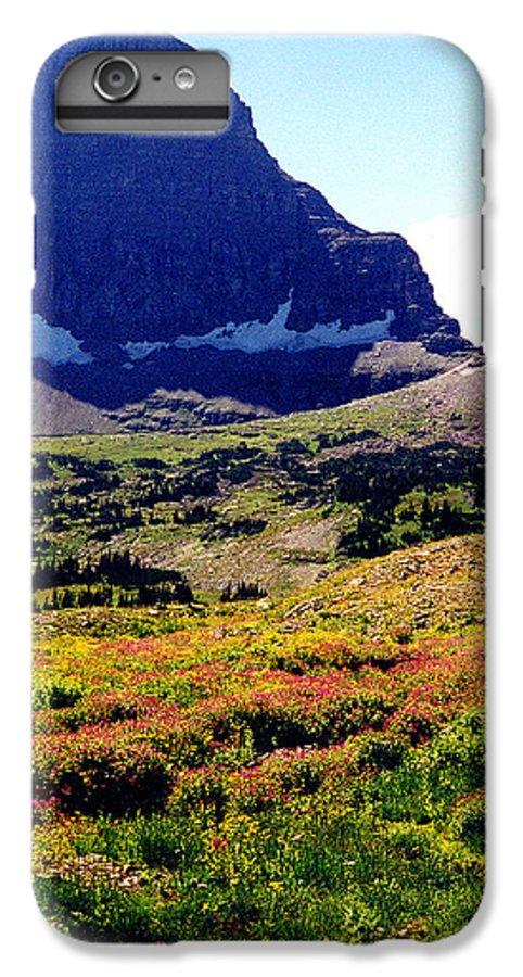 Glacier National Park IPhone 6s Plus Case featuring the photograph Logans Pass In Glacier National Park by Nancy Mueller