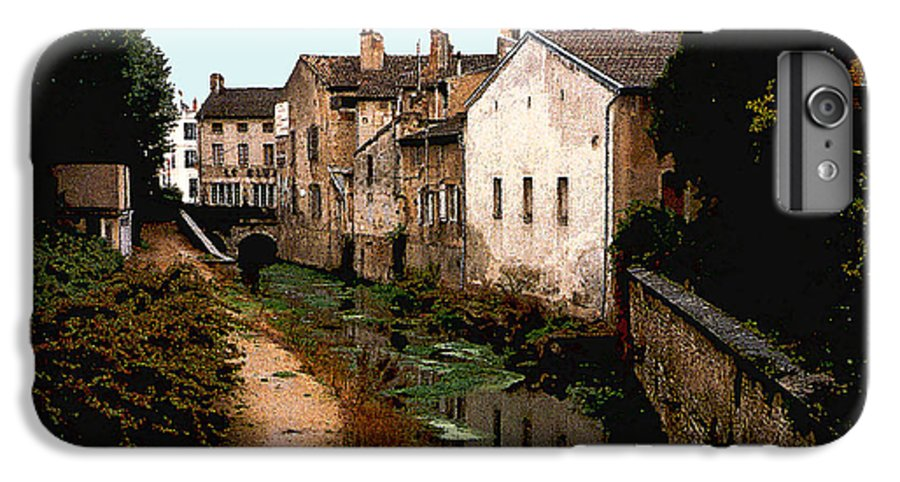 France IPhone 6s Plus Case featuring the photograph Loire Valley Village Scene by Nancy Mueller