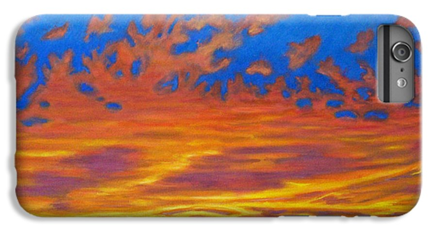 Landscape IPhone 6s Plus Case featuring the painting Looking To The Southwest by Brian Commerford