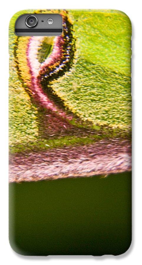 Luna IPhone 6s Plus Case featuring the photograph Luna Moth Eye by Douglas Barnett