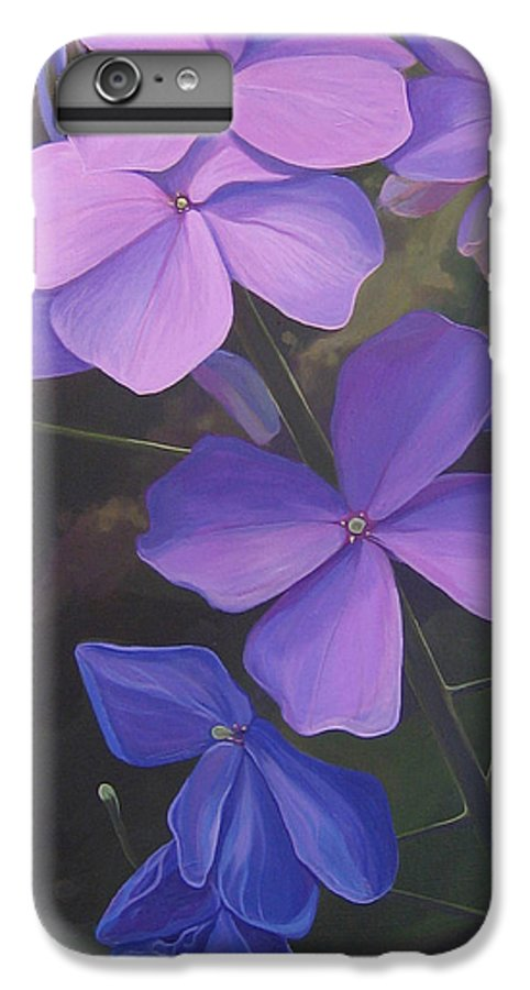Closeup Of Colorado Wildflower Near Durango IPhone 6s Plus Case featuring the painting Lush Life by Hunter Jay