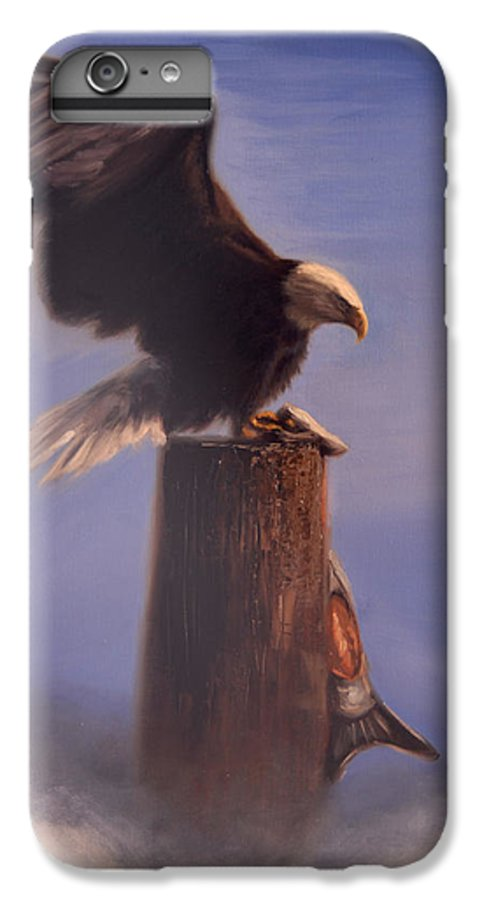 Oil IPhone 6s Plus Case featuring the painting Majestic by Greg Neal