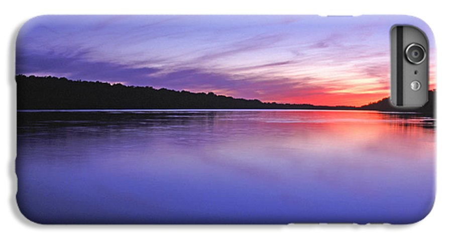 Landscape IPhone 6s Plus Case featuring the photograph Manidooziibi by Bill Morgenstern