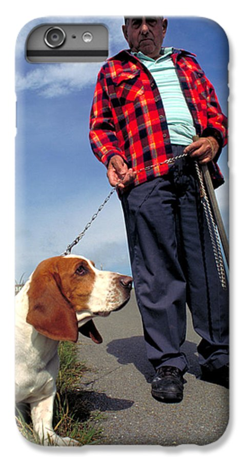 Dog IPhone 6s Plus Case featuring the photograph Man's Best Friend by Carl Purcell