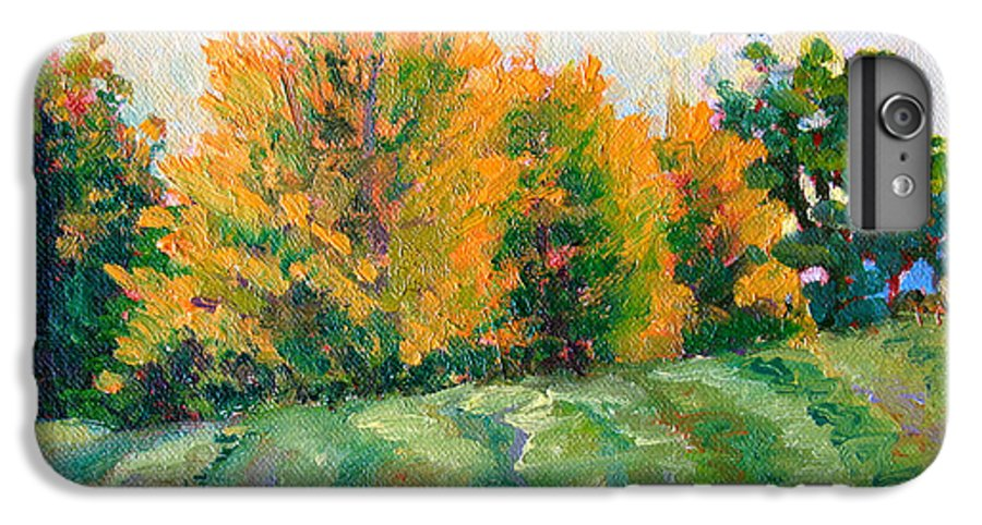 Impressionism IPhone 6s Plus Case featuring the painting Maple Grove by Keith Burgess