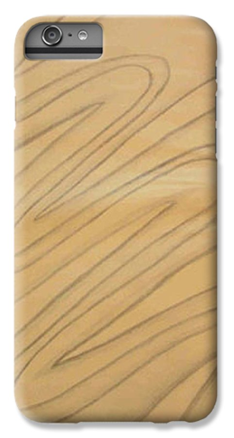 Abstract IPhone 6s Plus Case featuring the drawing Maze Of Life Drawing by Natalee Parochka