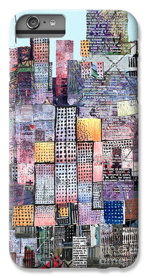 Metro IPhone 6s Plus Case featuring the digital art Metropolis 3 by Andy Mercer