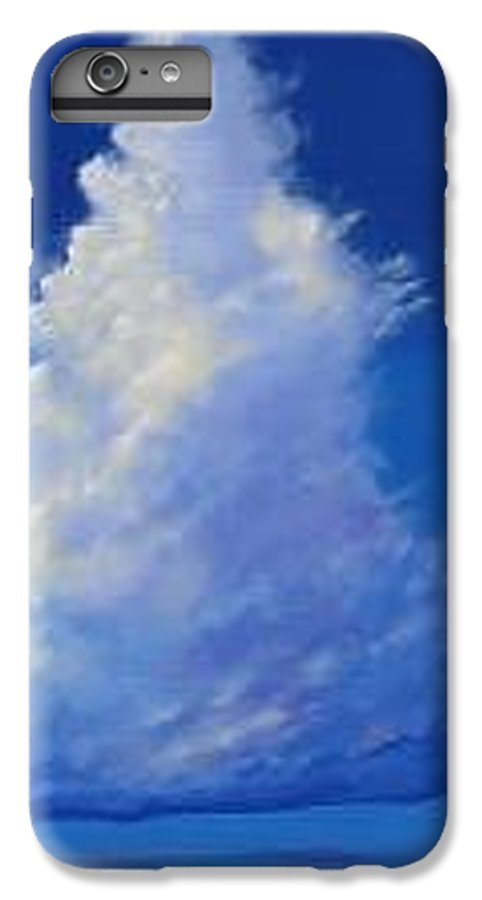 Clouds IPhone 6s Plus Case featuring the painting Minor Earth Major Sky by Hunter Jay