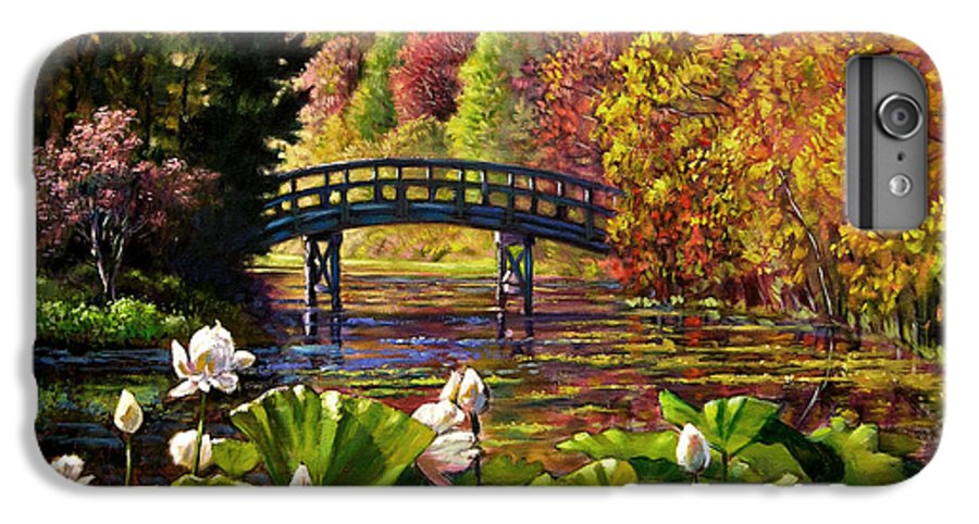 Landscape IPhone 6s Plus Case featuring the painting Missouri Memories by John Lautermilch