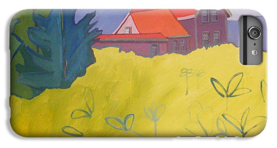 Lighthouse IPhone 6s Plus Case featuring the painting Monhegan Light by Debra Bretton Robinson