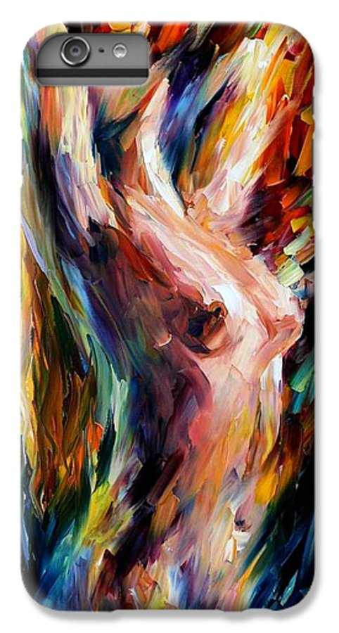 Nude IPhone 6s Plus Case featuring the painting Morning by Leonid Afremov