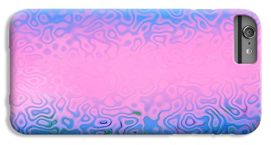 Morning.sea.fog.sun.water Illusions.morning Cold.colors Blue.rose. IPhone 6s Plus Case featuring the digital art Morning Sea Fog.cold Water by Dr Loifer Vladimir