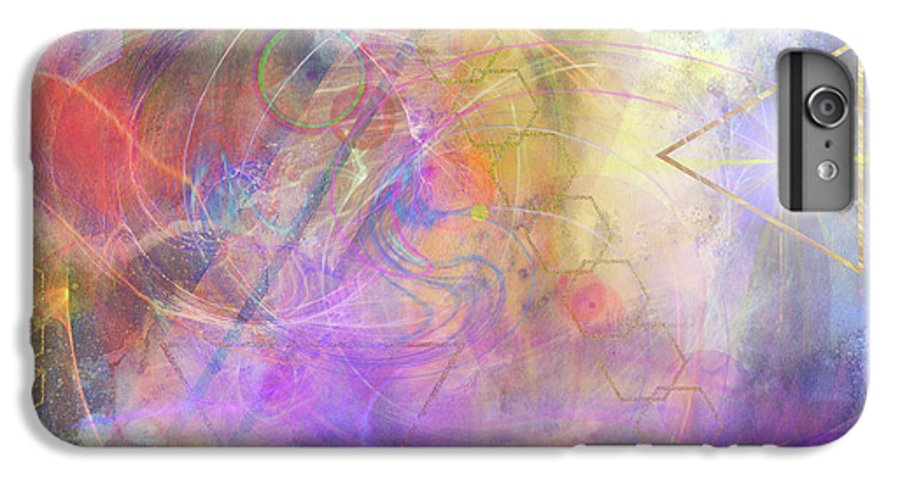 Morning Star IPhone 6s Plus Case featuring the digital art Morning Star by John Beck