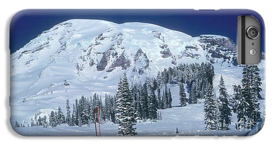 Mt. Rainier IPhone 6s Plus Case featuring the photograph Mt. Rainier by Larry Keahey