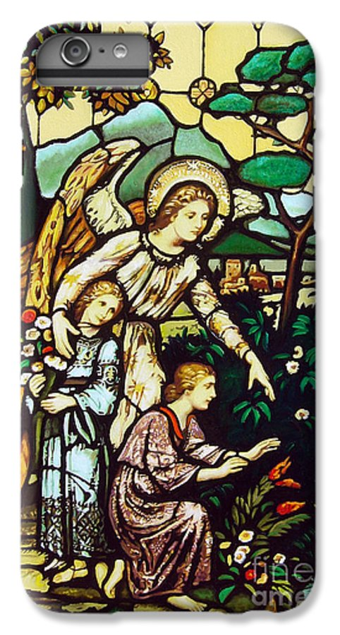 IPhone 6s Plus Case featuring the painting My Angel by Jose Manuel Abraham