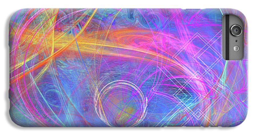 Mystic Beginning IPhone 6s Plus Case featuring the digital art Mystic Beginning by John Beck