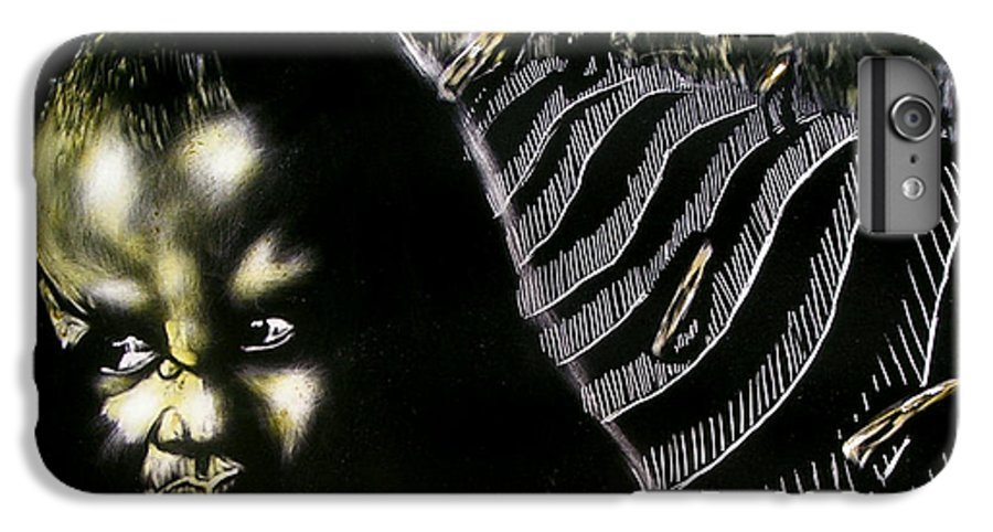 IPhone 6s Plus Case featuring the mixed media Mystic Waves by Chester Elmore