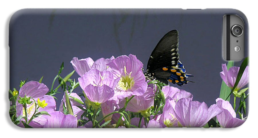 Nature IPhone 6s Plus Case featuring the photograph Nature In The Wild - Profiles By A Stream by Lucyna A M Green
