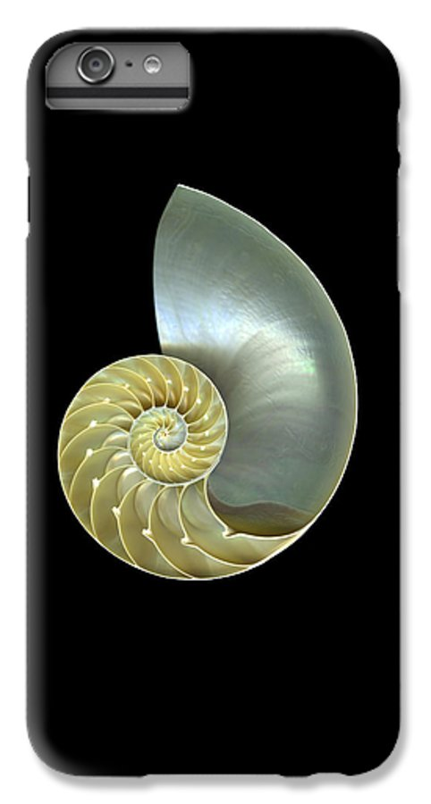 Slanec IPhone 6s Plus Case featuring the photograph Nautilus Nr.1 by Christian Slanec