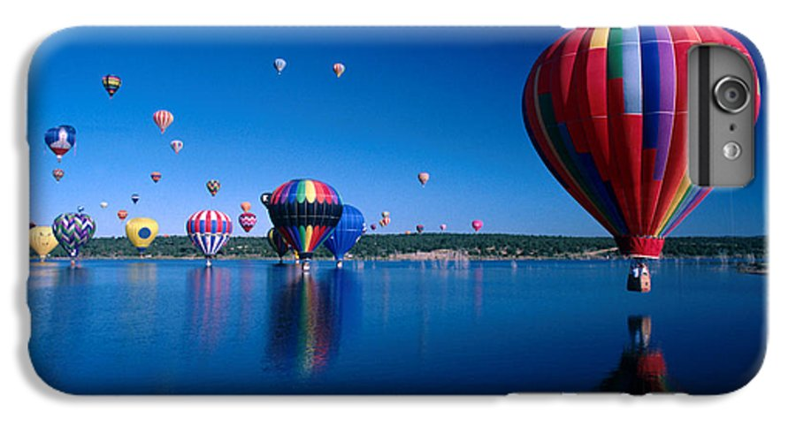 Hot Air Balloon IPhone 6s Plus Case featuring the photograph New Mexico Hot Air Balloons by Jerry McElroy