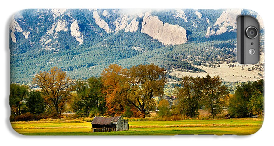 Rural IPhone 6s Plus Case featuring the photograph Old Shed by Marilyn Hunt